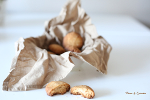 Sablés au beurre de coco