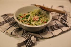"Salade de pe-tsaï – aka ""chou chinois"""