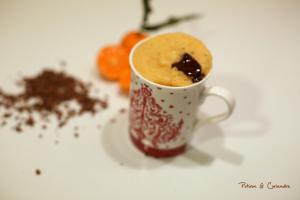Mug Cake chocolat et clémentine