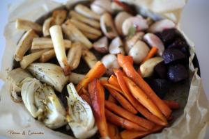 Farandole de légumes d'hiver rôtis