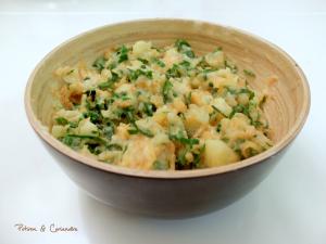 Ecrasé de pommes de terre et courge musquée