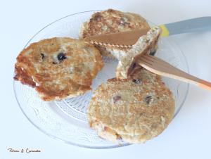 Mioum, la chandeleur! #3 Pancakes aux myrtilles (vegan)