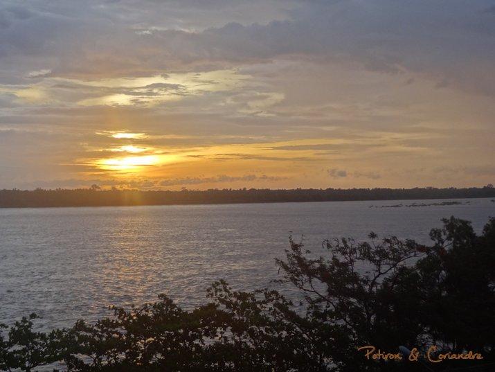 sunset kratie