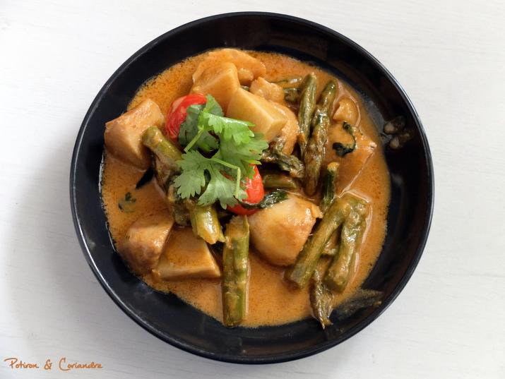 curry taro asperges