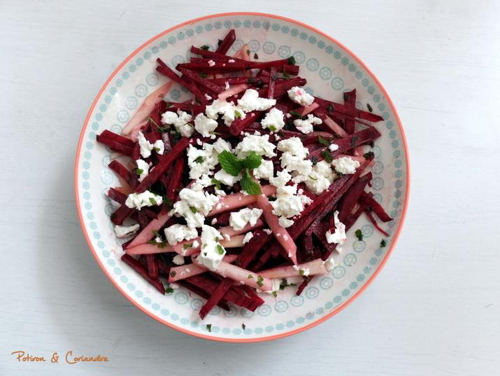 Salade betteraves