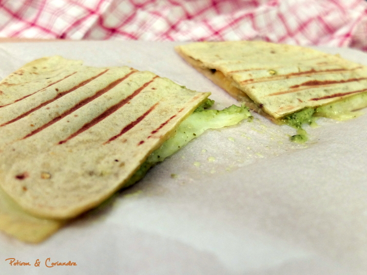 Quesadillas Pesto Pêches3