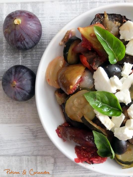 Salade légumes d'été et figues (2)