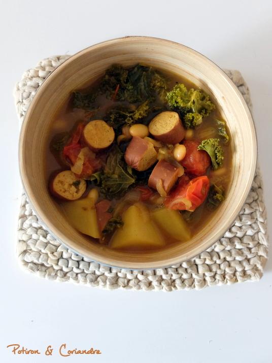 Soupe Kale