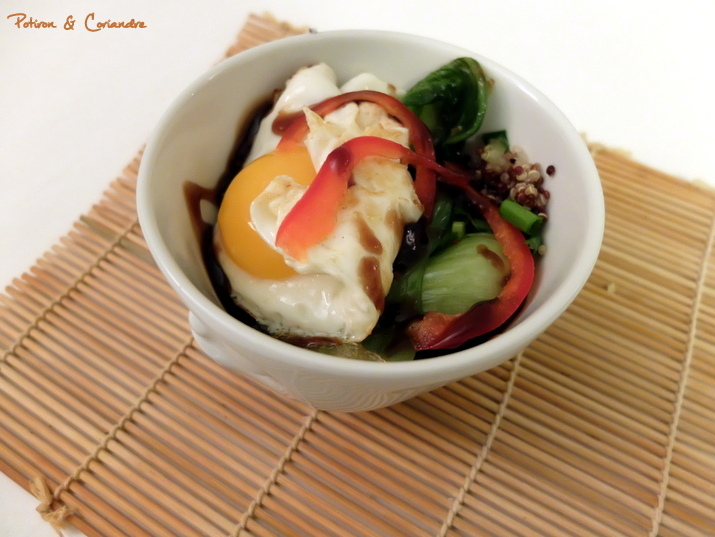 Salade aux oeufs frits3