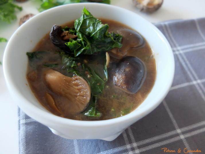 Soupe Champignon Kale (2)