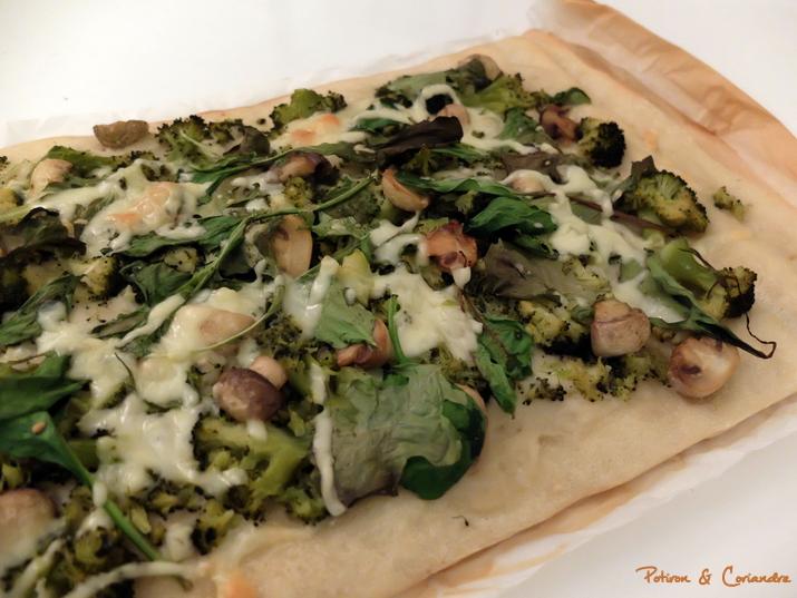 Pizza vert