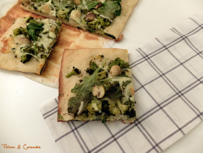 Pizza verte (2)