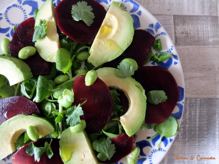 Salade Avocat Betterave (2)