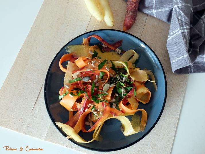 Salade carottes tricolores (2)
