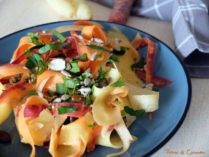 Salade carottes tricolores (3)