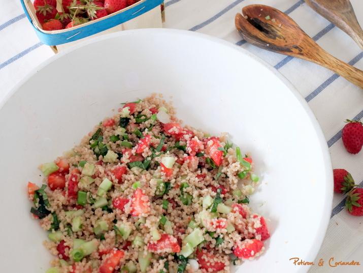 Taboule_fraises
