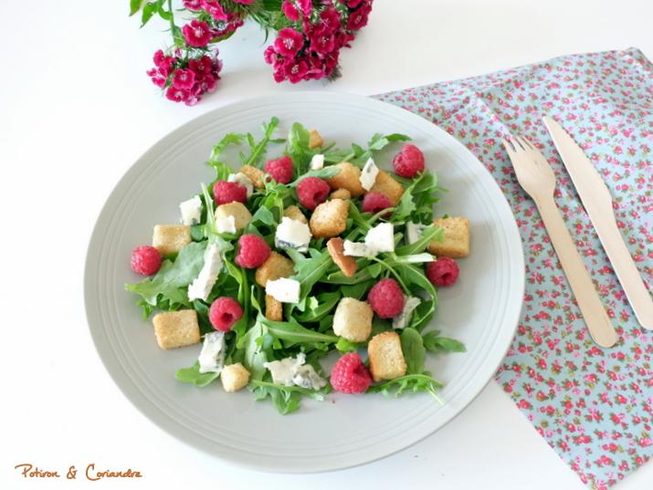 Salade_Framboise_Gorgonzola