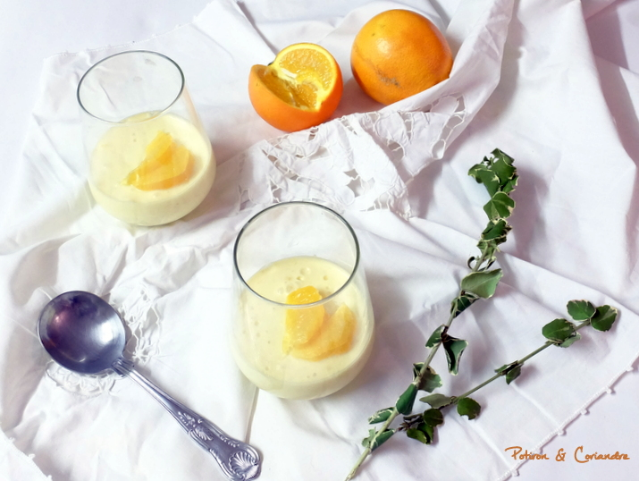 Posset a l'orange sanguine