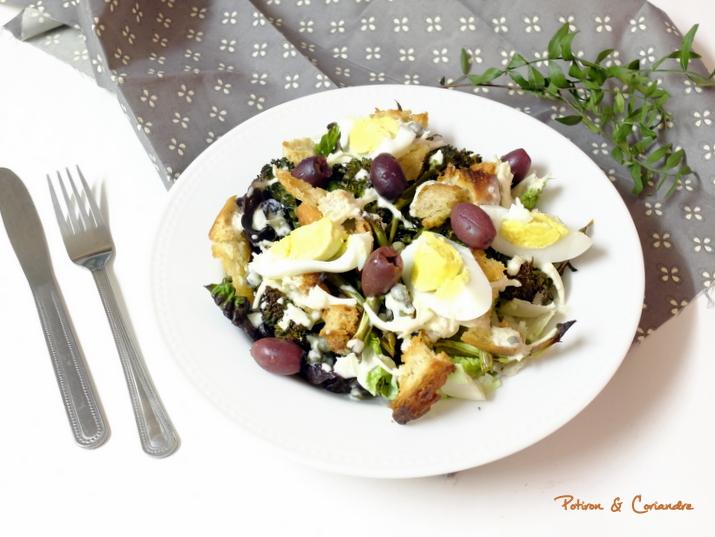 Ma version de la salade césar végétarienne