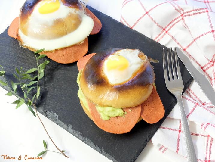 Bagel spécial brunch