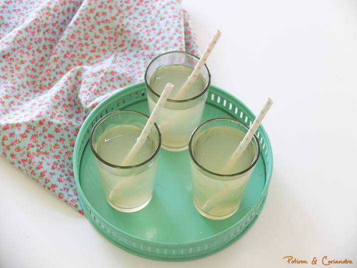 Boisson rafraîchissante citron/gingembre à l'orge