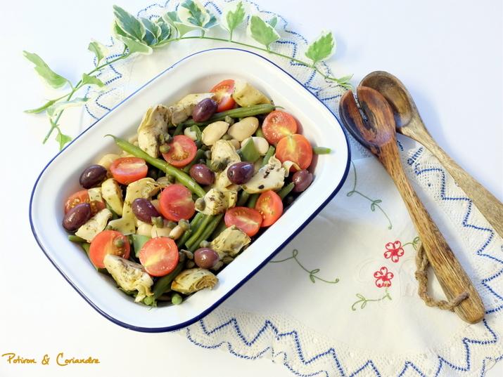 "Ma salade ""pseudo"" Niçoise"