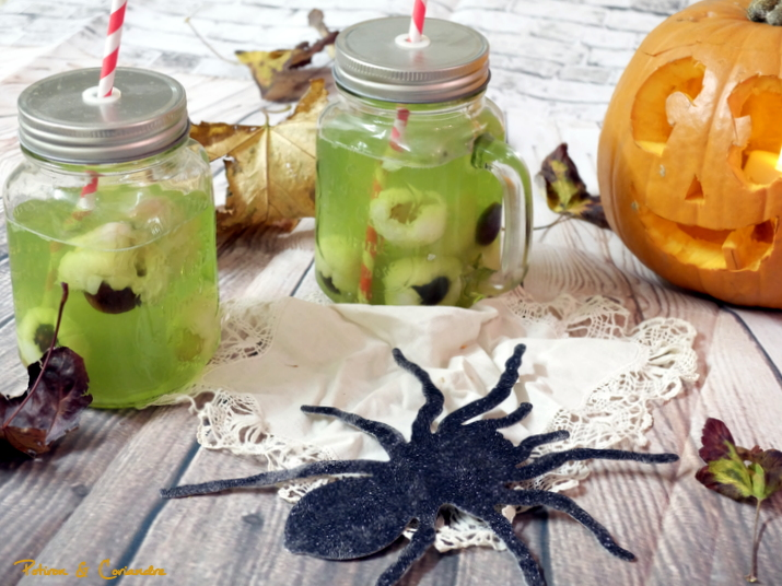 Halloween mocktail