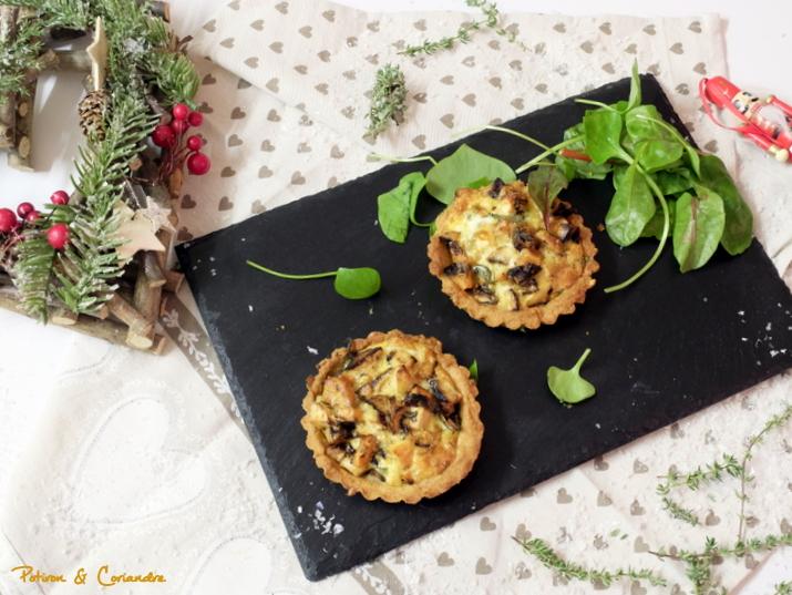 Tartelettes au panais et patate douce
