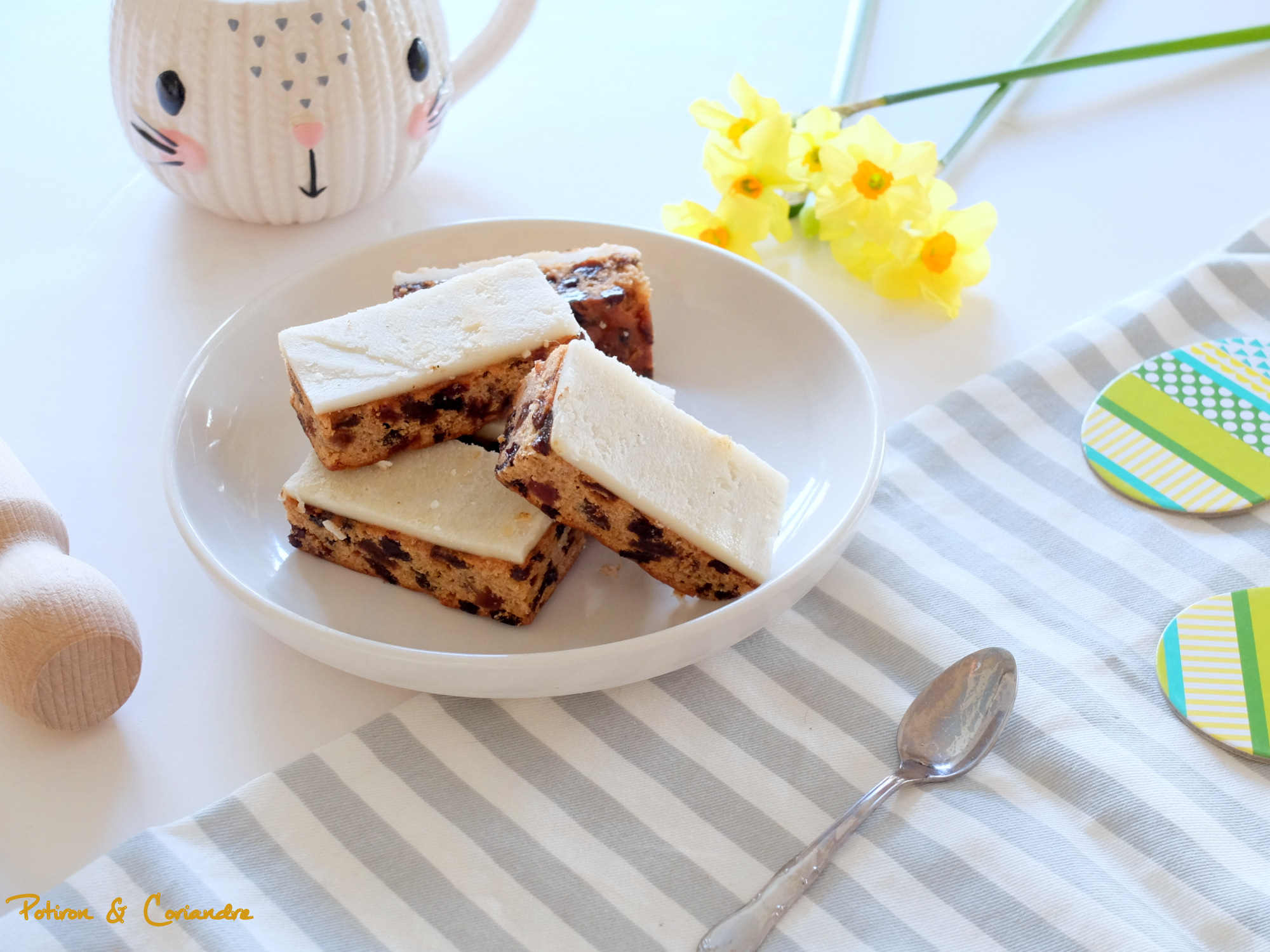 Cake aux fruits façon Simnel cake