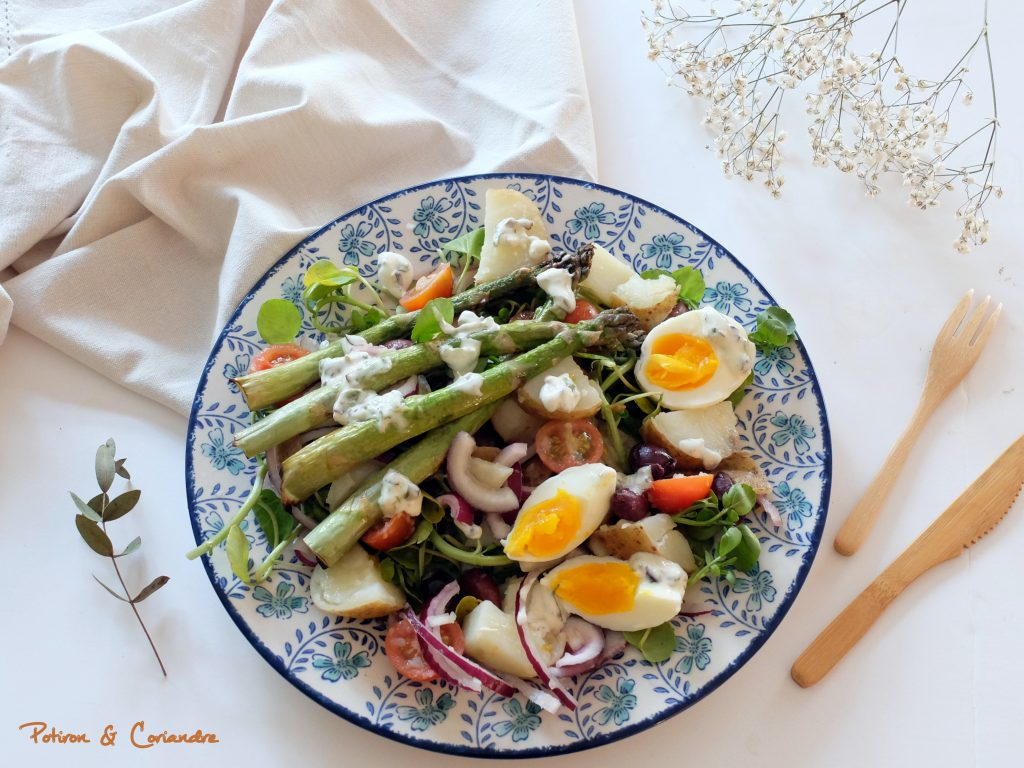 Salade presque Niçoise