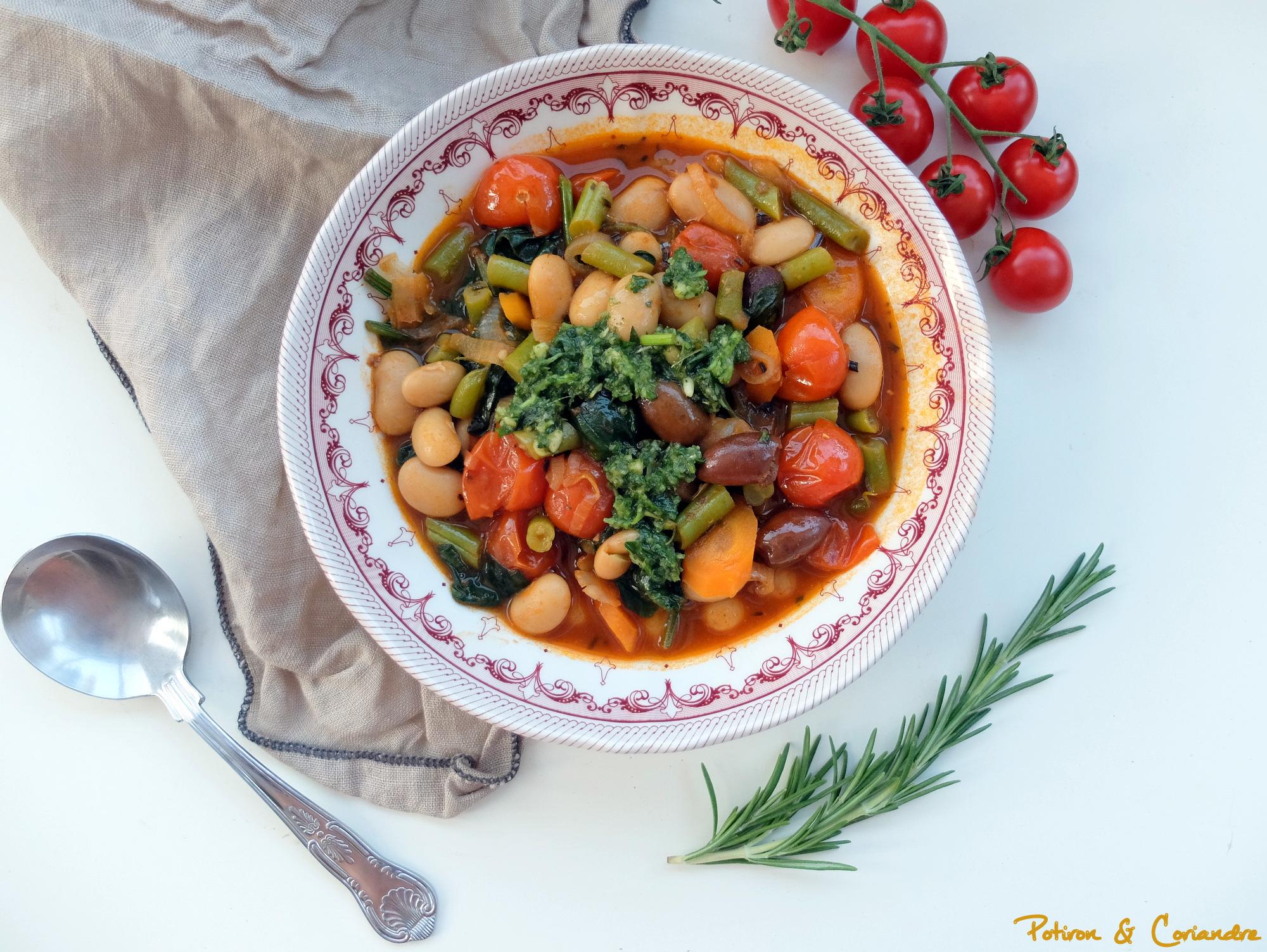 Soupe méditerranéenne [ou ma pseudo soupe au Pistou]