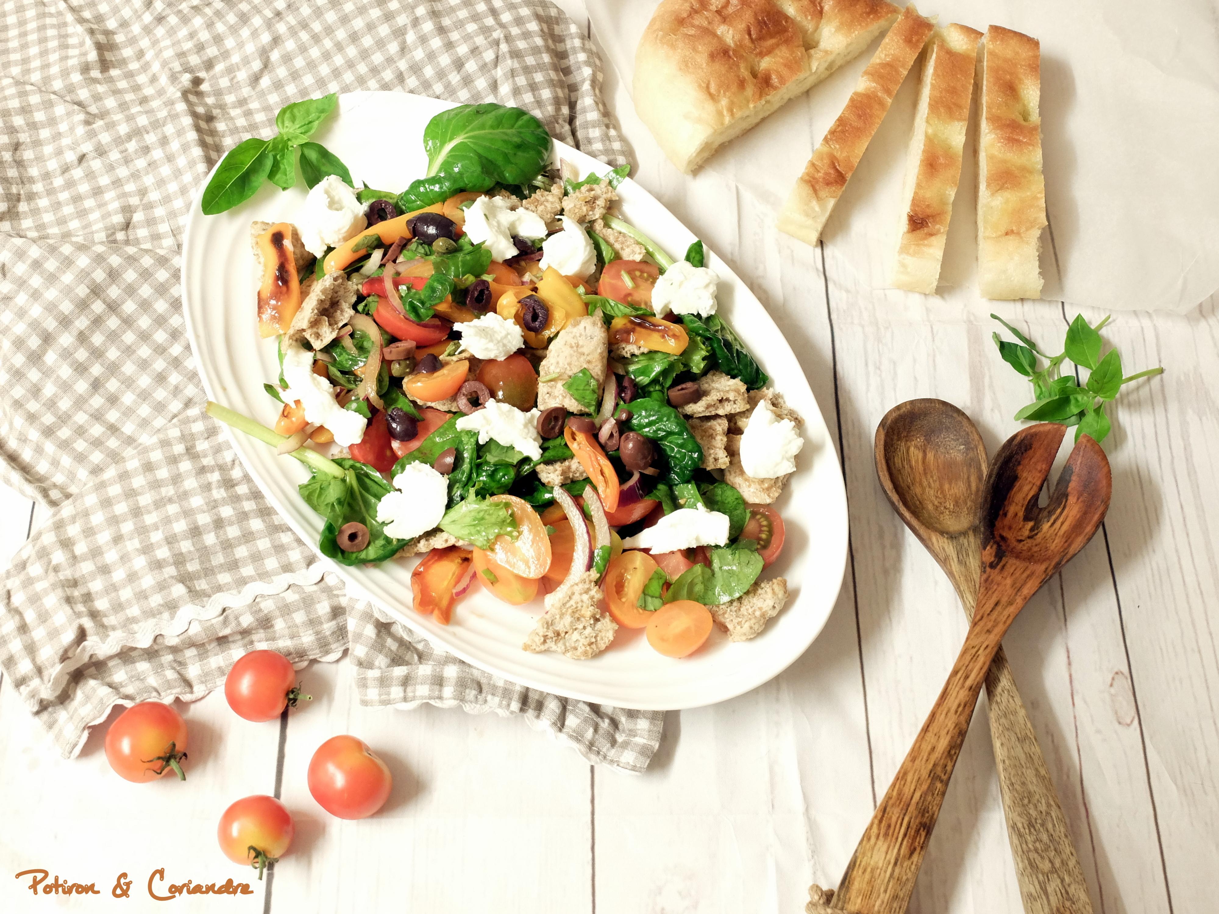 Salade de tomates à l'Italienne