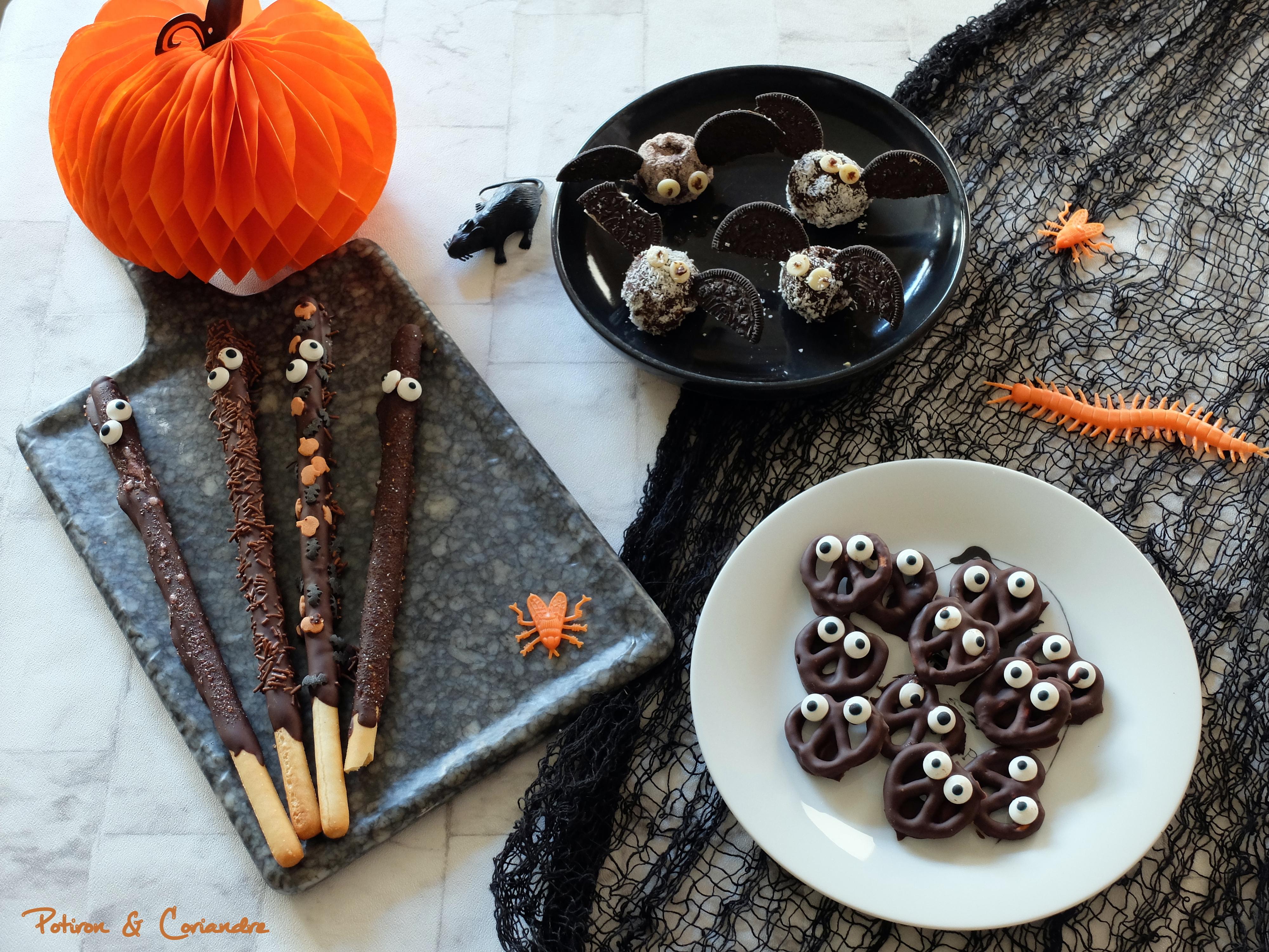Trois idées simplissimes pour les gourmands à Halloween