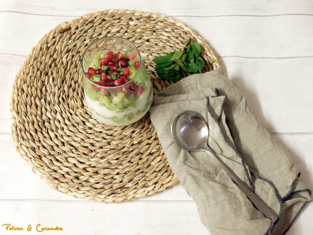 Dessert express kiwi-coco [vegan]