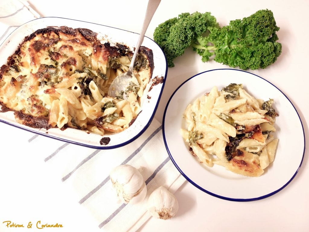 'Mac and cheese' au kale