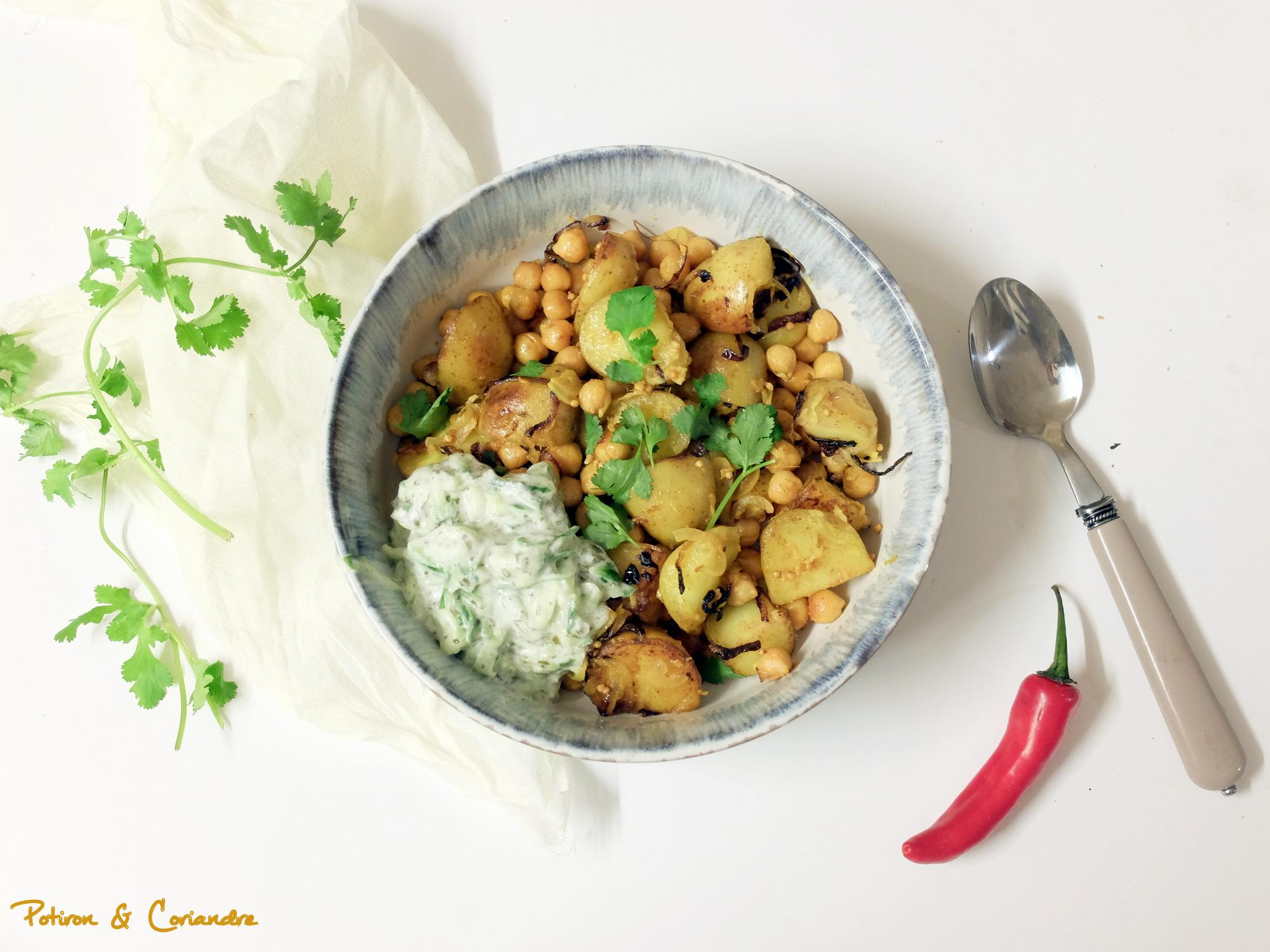 Aloo Bombay – ou pommes de terre à l'Indienne