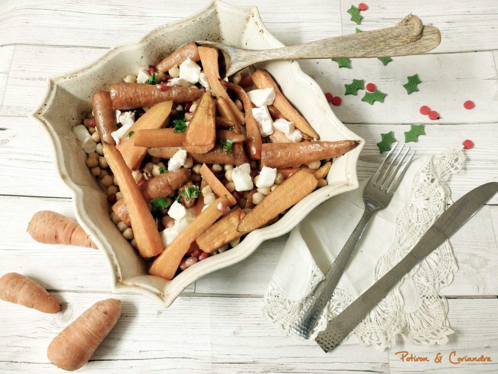 Carottes Chantenay rôties [recette de Noël]