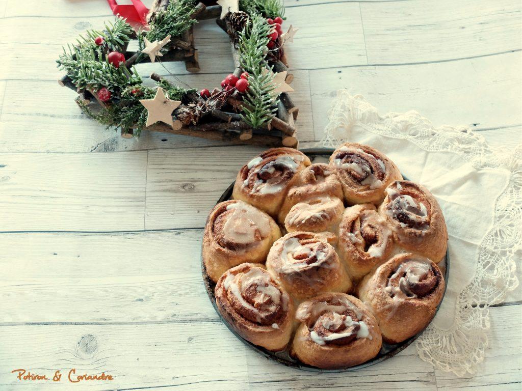 Cinnamon buns [recette de Noël]
