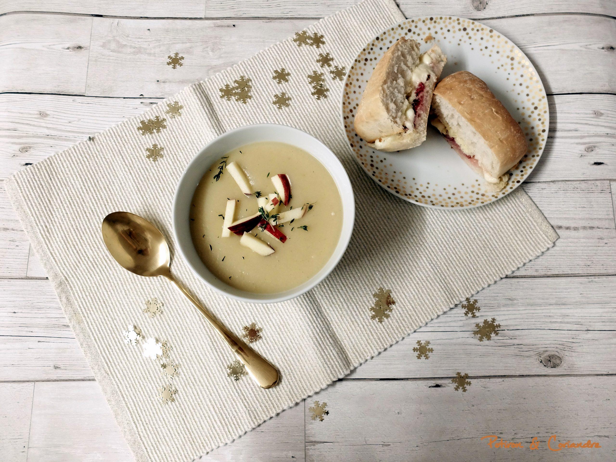Soupe au panais [recette de Noël]